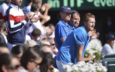 Lionel ROUX, Entraineur de Coupe Davis, Tennis
