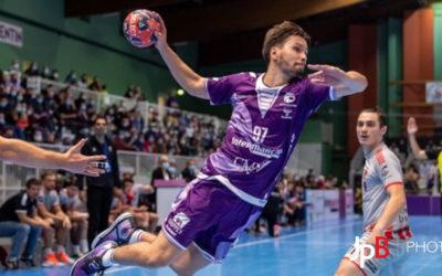 Lucas Dalmont, joueur professionnel de Handball