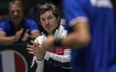 Sébastien GROSJEAN, Tennis